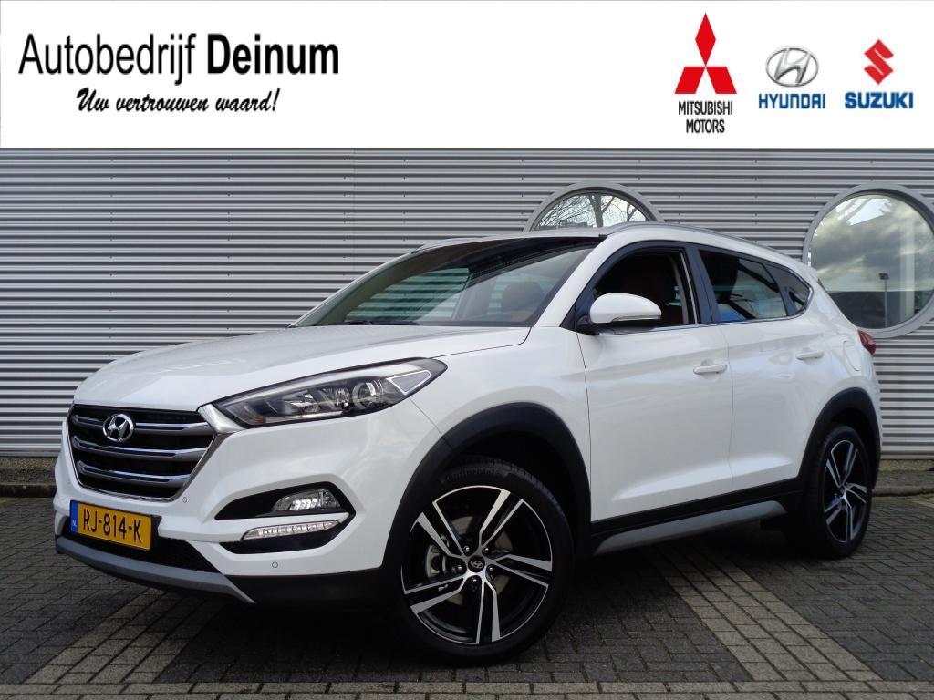 "Hyundai Tucson 1.6 gdi comfort leder/navigatie/19"" lm velgen"