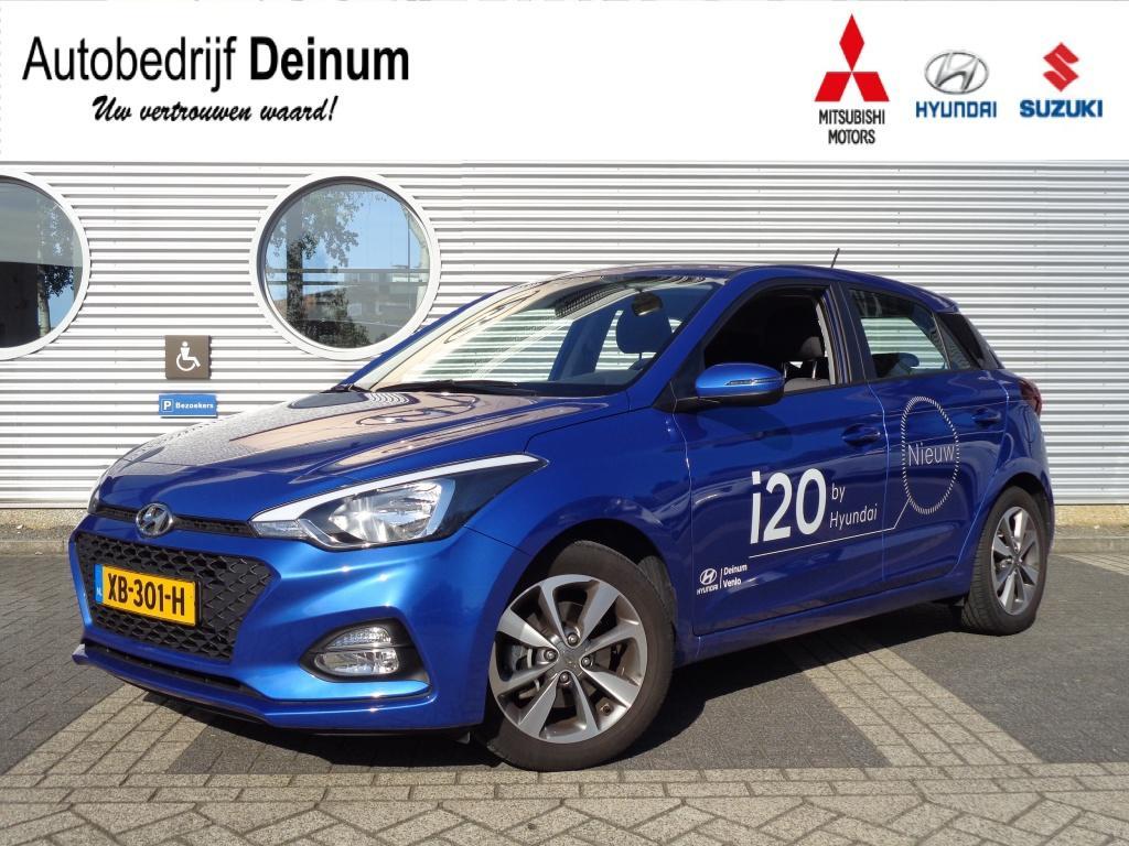 "Hyundai I20 1.0 t-gdi comfort navigatie / climate controle / 16"" lm-velgen"