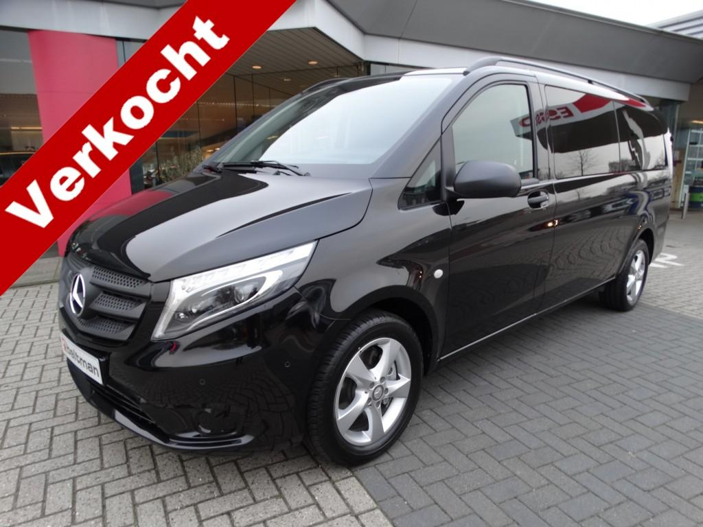 Mercedes-benz Vito 119 cdi automaat l3h1 luxe dubbele cabine /led koplampen/navi/stoelverwarming/glaslookpanelen