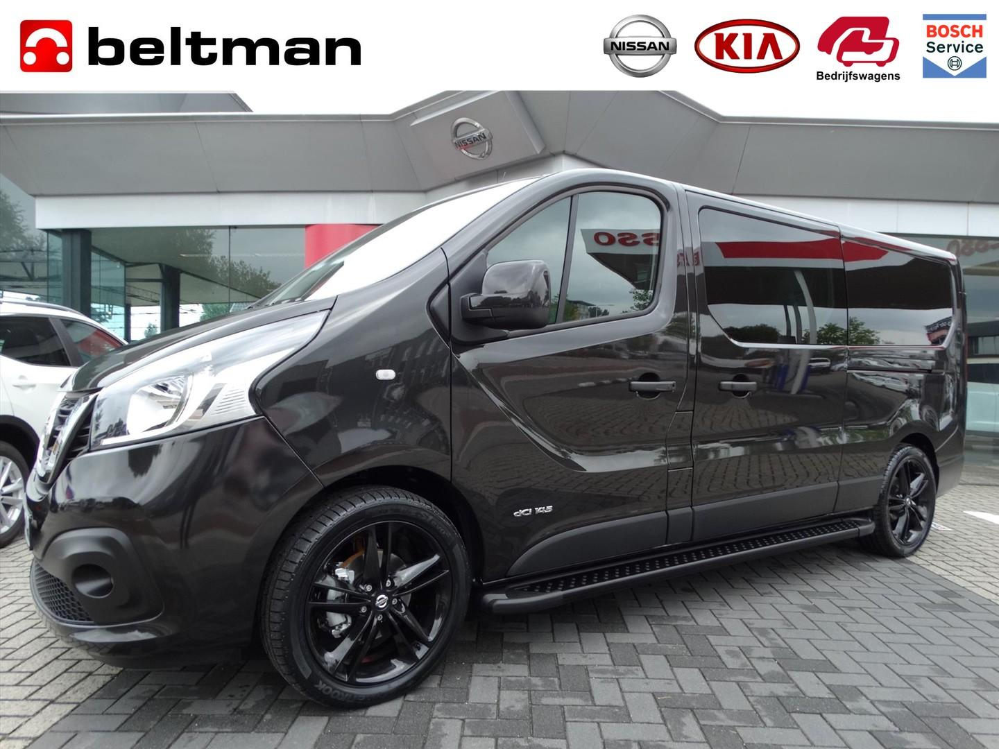 Nissan Nv300 1.6 dci 145 l2h1 optima black edition luxe dubbele cabine netto deal!