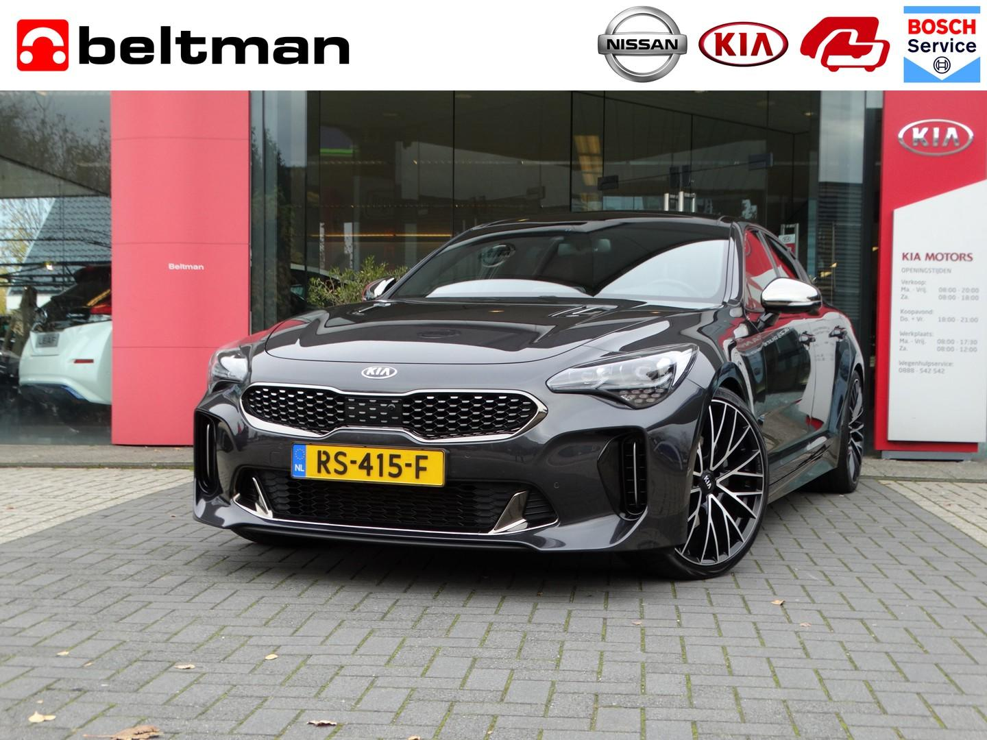 Kia Stinger 2.0 t-gdi gt-line red pack leather