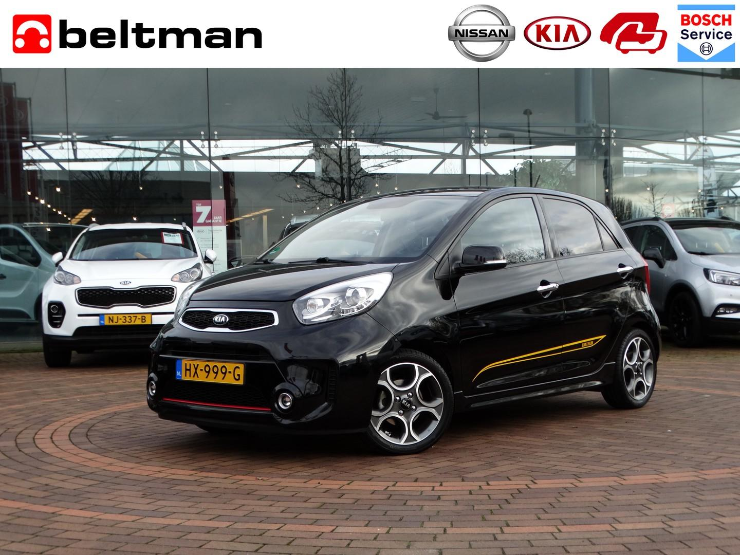 Kia Picanto 1.2 cvvt sportsline black & yellow edition 9/50