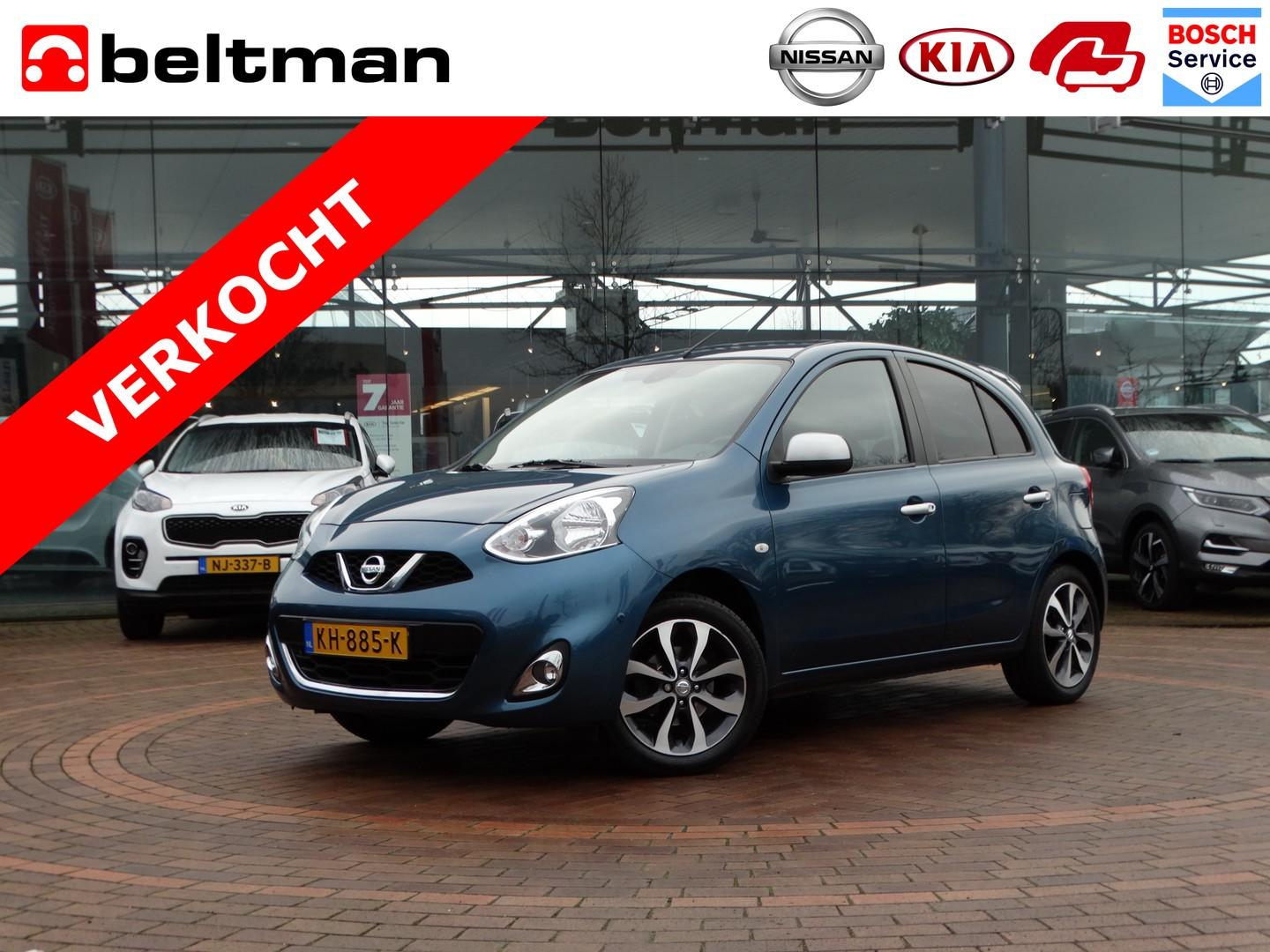 Nissan Micra 1.2 connect edition n-tec