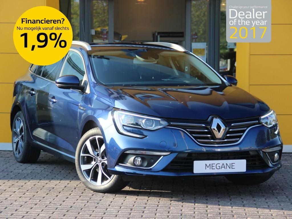 Renault Mégane Estate 1.5 dci 110pk bose normaal rijklaar 32.395,- nu rijklaar 28.150,-