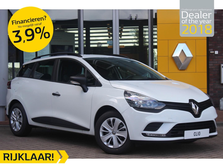Renault Clio Estate tce 90pk life normaal rijklaar €18.275,- nu rijklaar €14.950,-