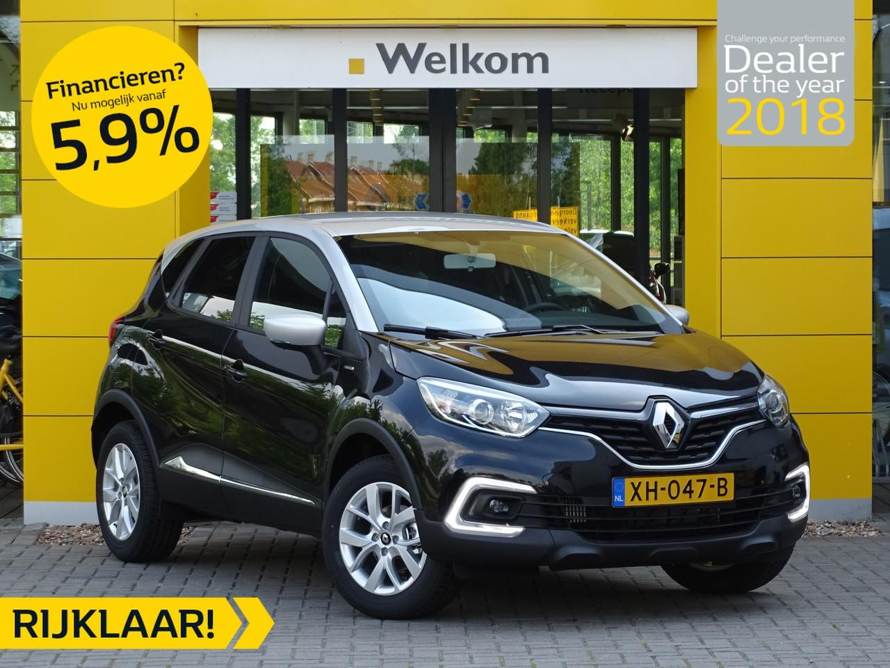 Renault Captur Tce 90pk limited * demo voordeel *