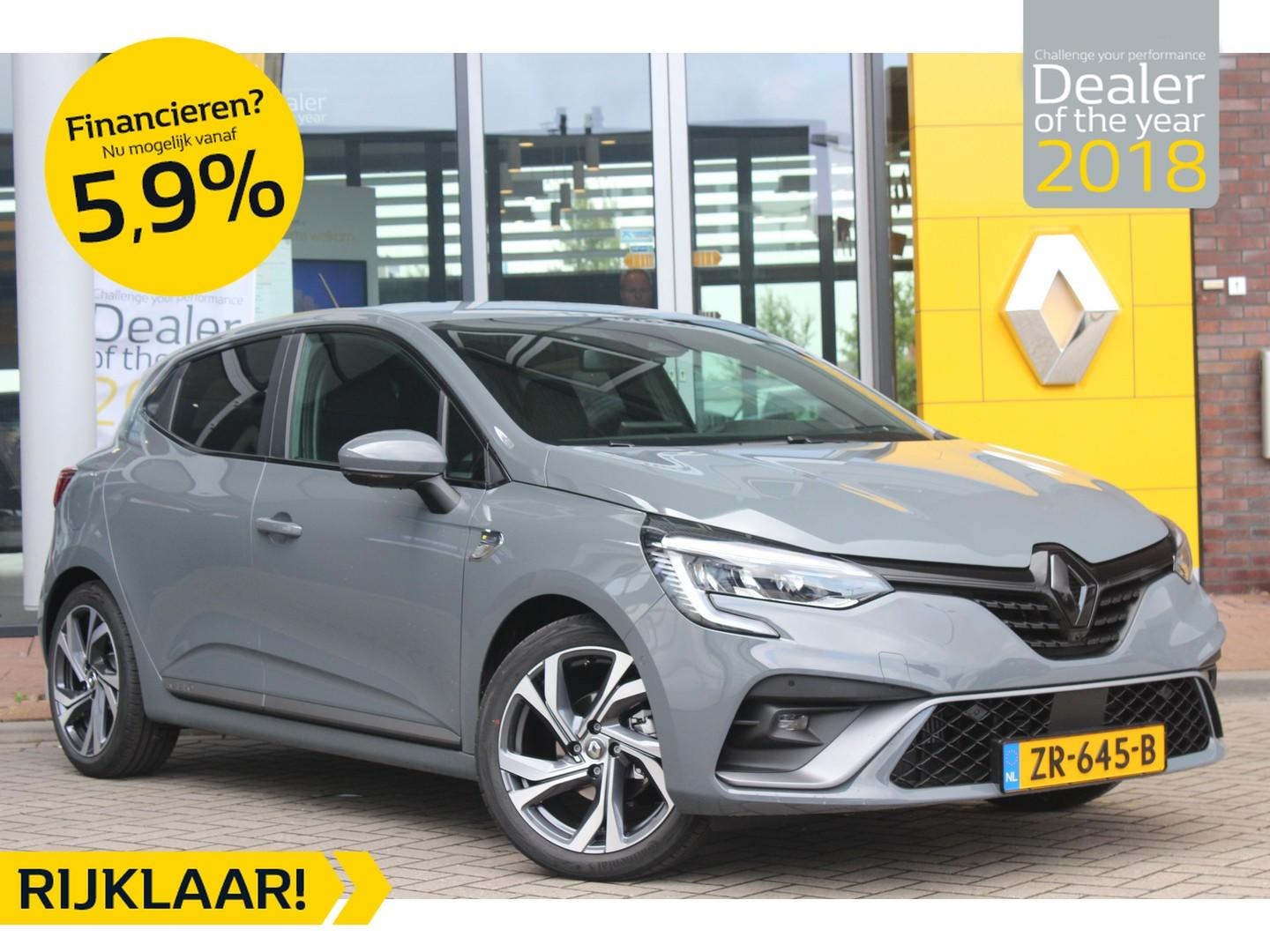 Renault Clio Tce 100pk r.s. line * unieke uitstraling *