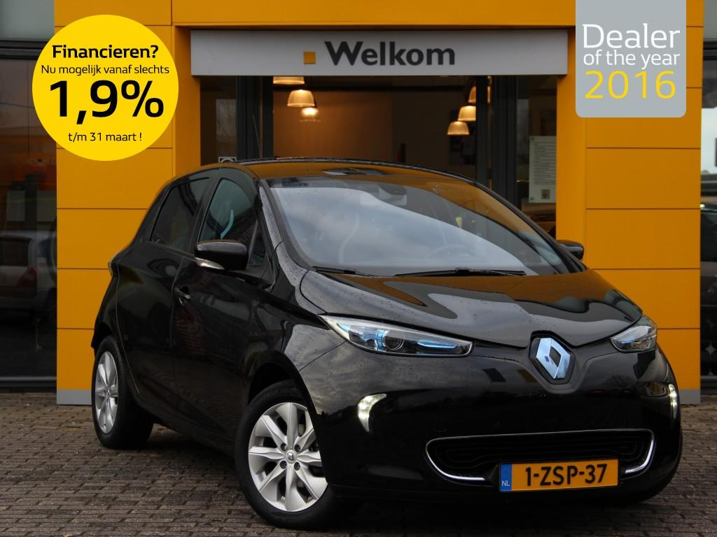 Renault Zoe Intens quickcharge (ex accu) demo