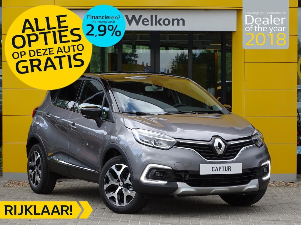 Renault Captur Tce 90pk intens normaal rijklaar 25.675,- nu rijklaar 22.685,- incl gratis opties