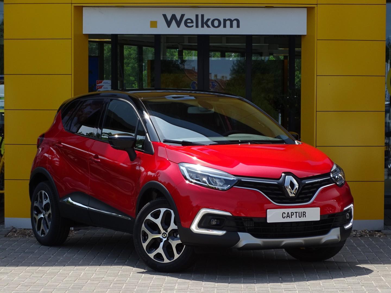 Renault Captur Tce 130pk intens normaal rijklaar 27.695,- nu rijklaar 24.195,-
