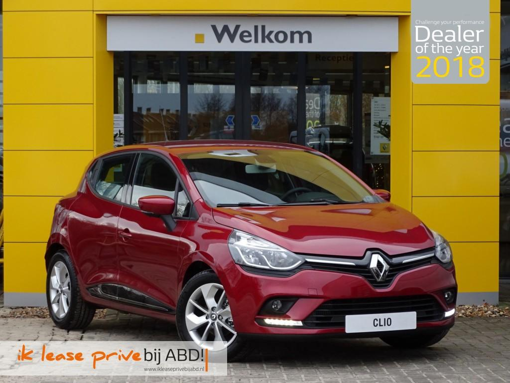 Renault Clio Tce 90pk limited private lease