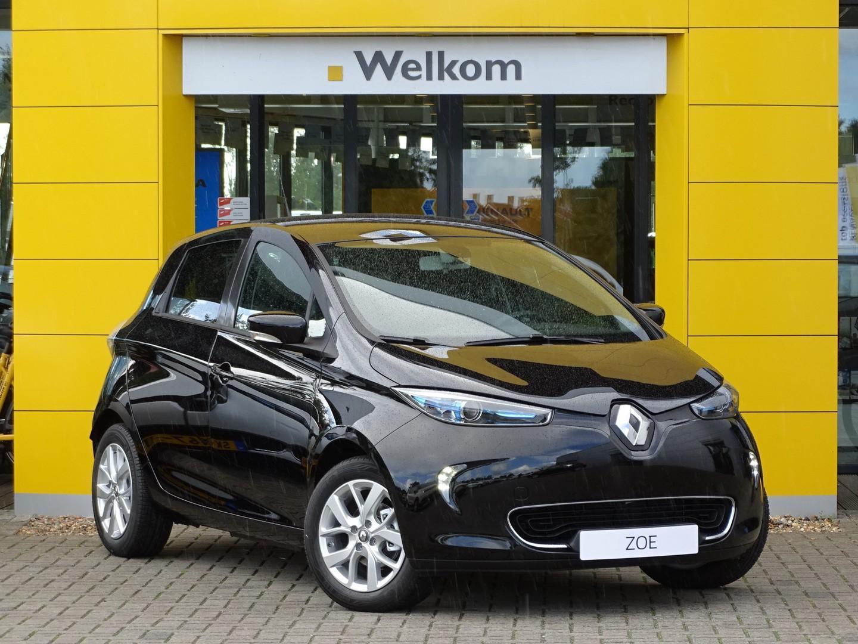 Renault Zoe R110 limited z.e. 40 normaal rijklaar 35.895,- nu rijklaar 32.395,- + gratis laadpaal of greenflux laadpas