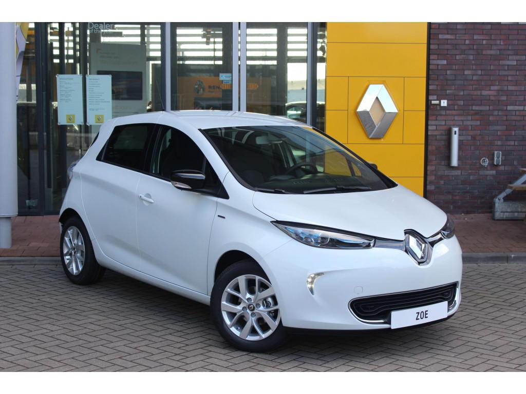 Renault Zoe R110 limited 41 kwh incl accu prijs ex btw 4% bijtelling