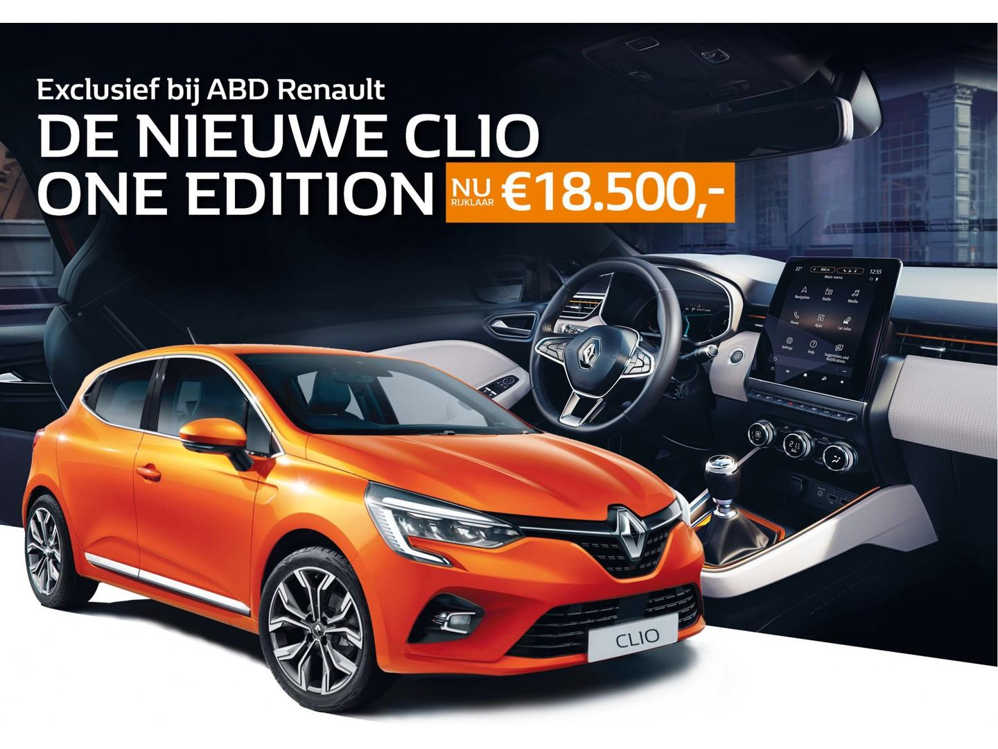 Renault Clio Tce 100pk one edition