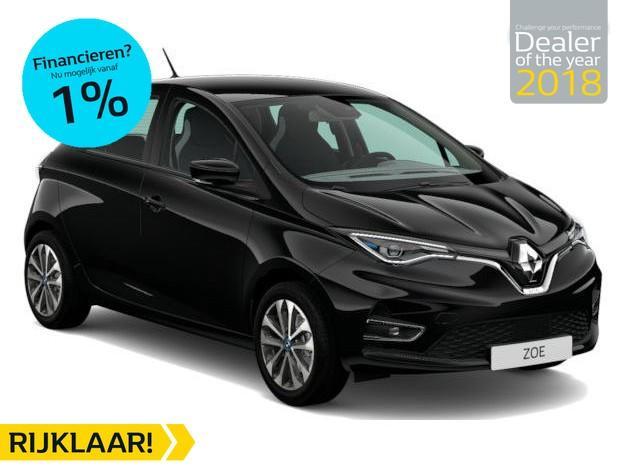 Renault Zoe R135 zen 52kwh batterijkoop 4% bijtelling