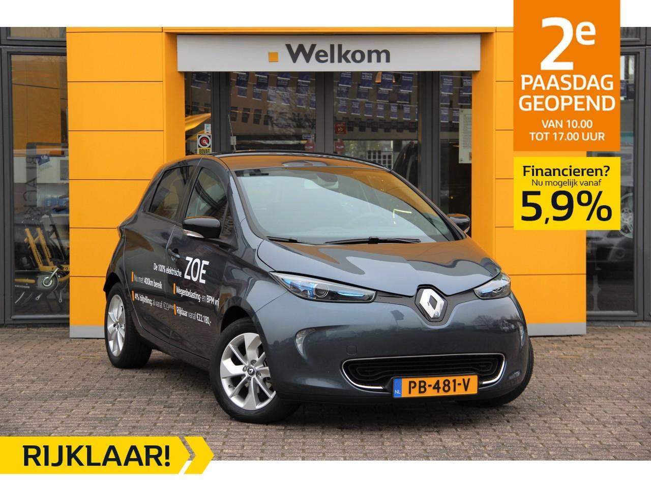 Renault Zoe Q90 intens quickcharge z.e. 40 rijklaar
