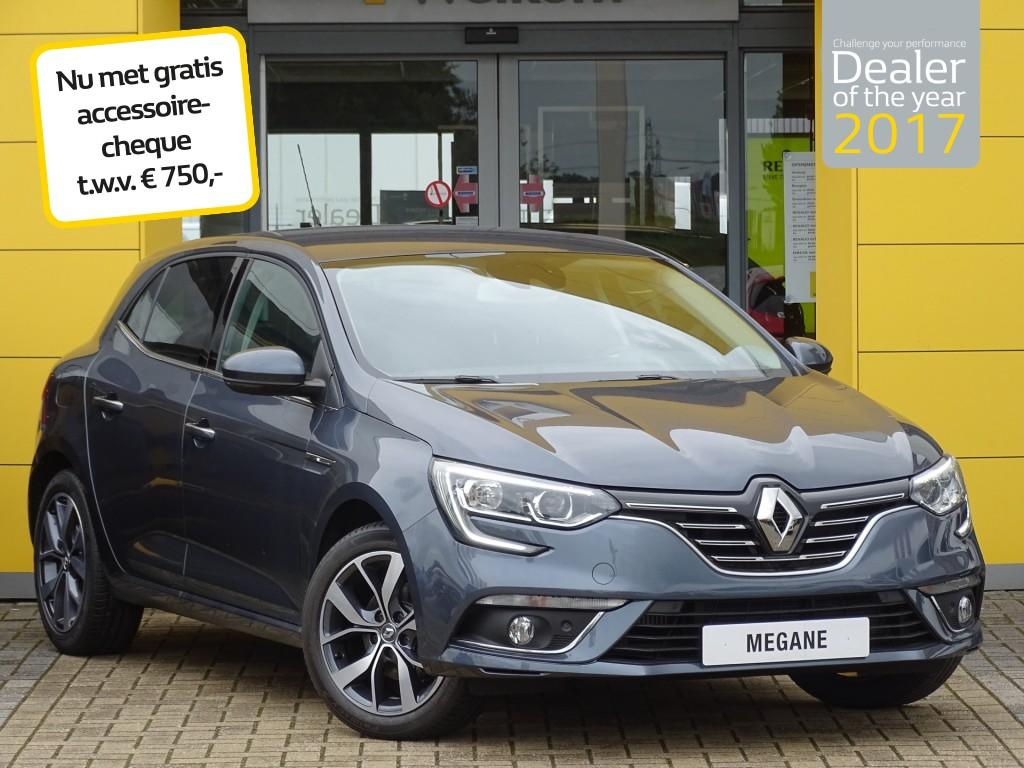 Renault Mégane Tce 100pk bose normaal rijklaar 27.420,- nu rijklaar 26.120,-