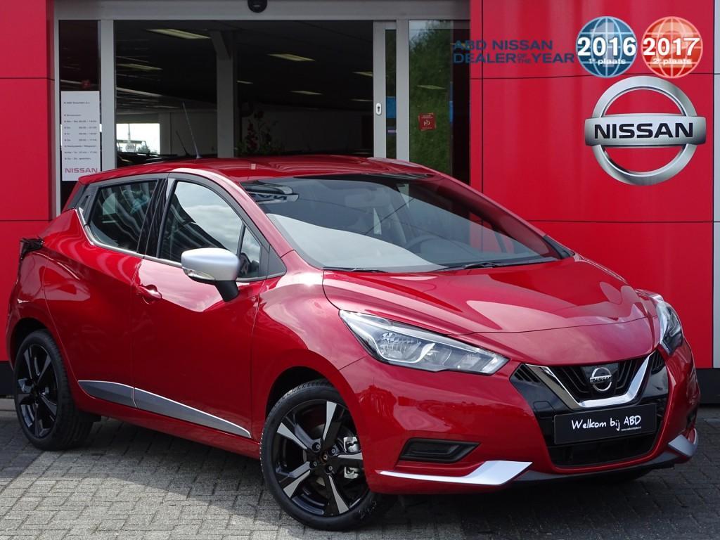 Nissan Micra 1.0l acenta normaal rijklaar voor €22.050,- , nu rijklaar voor €19.050,-
