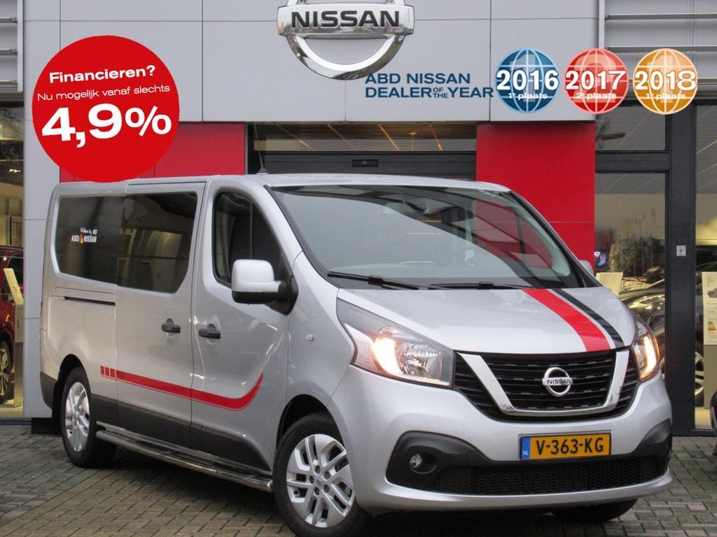 Nissan Nv300 Dci 120pk l2h1 edition 300 dubbele cabine nu rijklaar 27.295,- inclusief exclusieve styling!!!