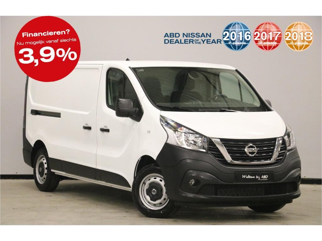 Nissan Nv300 Dci 125pk l2h1 acenta normaal rijklaar 28.595,-, nu rijklaar 21.995,-. unieke voorraad korting 25%!! 5 jaar garantie!!