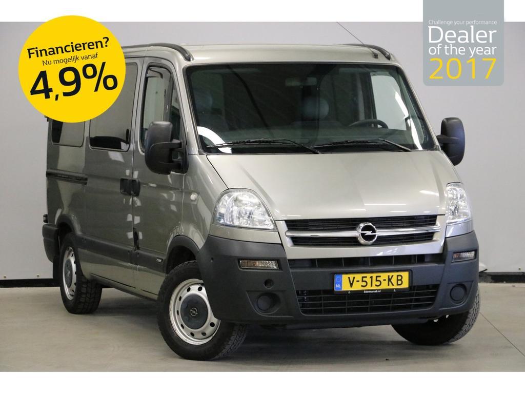 Opel Movano 2.5 cdti 101 pk l1 h1 automaat