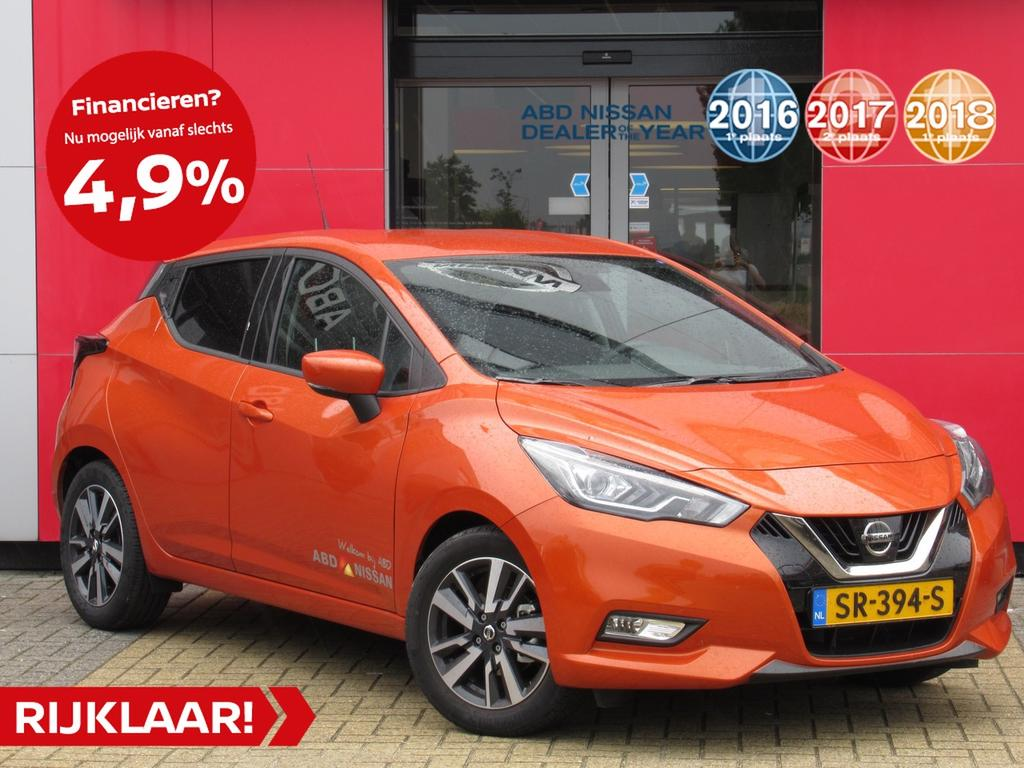 Nissan Micra Ig-t 90pk n-connecta
