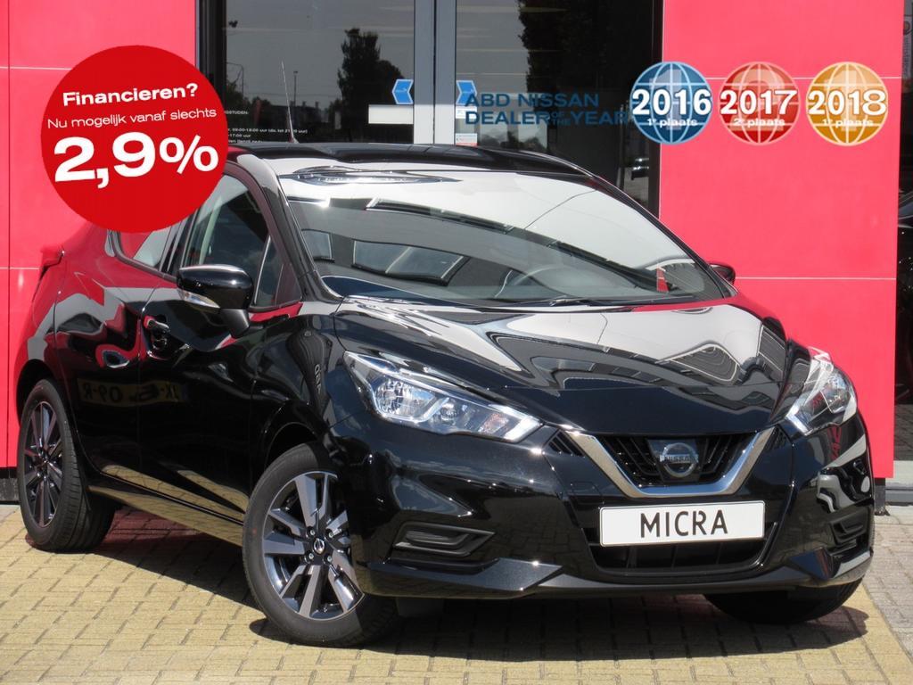 Nissan Micra 0.9 ig-t abd edition nu rijklaar van € 20.450,- voor € 17.950,-