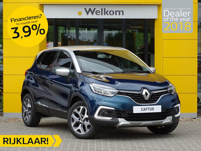 Renault Captur Tce 90pk intens normaal rijklaar € 26.060,- nu rijklaar € 23.250,-