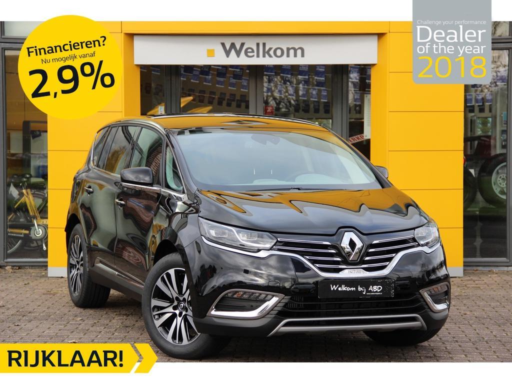 Renault Espace Tce 225 pk initiale paris 5p. normaal rijklaar € 60.800,- nu rijklaar voor € 48.899,-