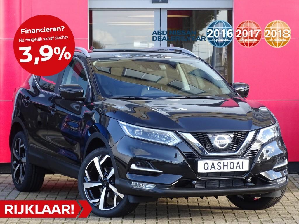 Nissan Qashqai Digt 160pk tekna dct automaat normaal rijklaar € 41.817,- nu rijklaar voor € 40.850,-