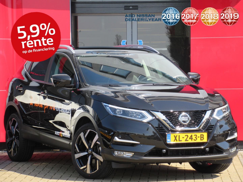 Nissan Qashqai Dig-t 160pk tekna dct automaat van € 41.817,- nu voor € 35.950,-demo voordeel!!