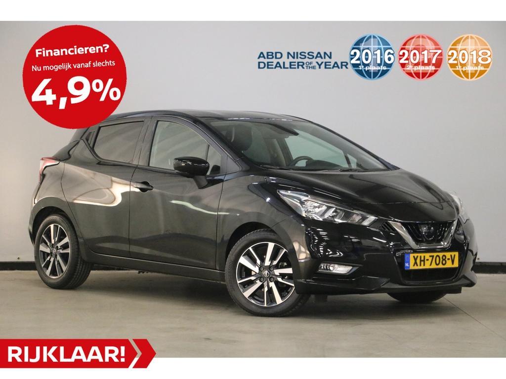Nissan Micra 1.5 dci 90pk n-connecta dit betreft een rijklaar prijs
