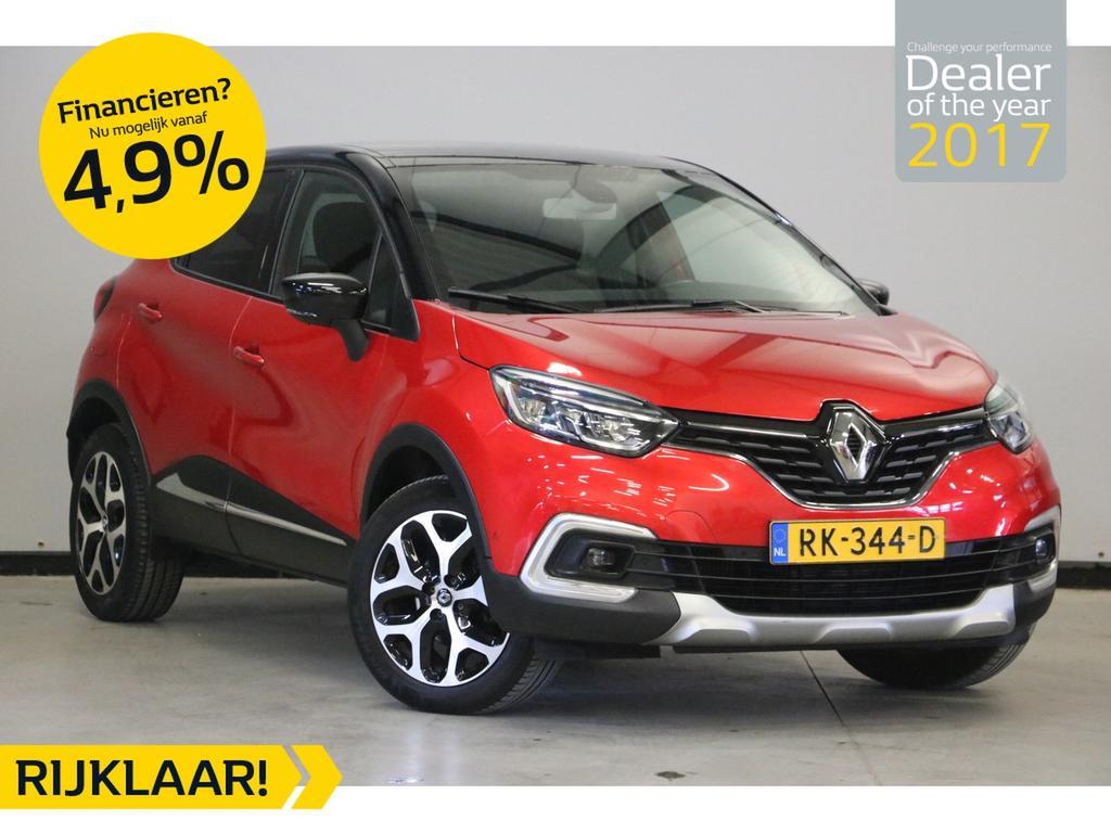 Renault Captur Tce 120pk edc/aut.6 intens dit betreft een rijklaar prijs
