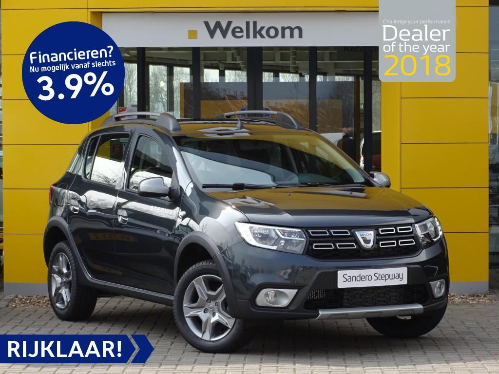 Dacia Sandero Tce 90pk stepway nu rijklaar uit voorraad € 18.275,-