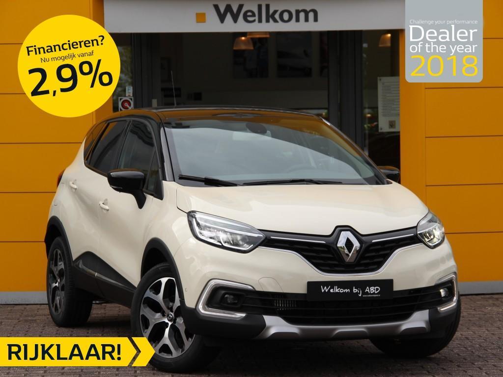 Renault Captur Tce 90pk intens normaal rijklaar 25.250,- nu rijklaar 21.750,- incl. gratis opties