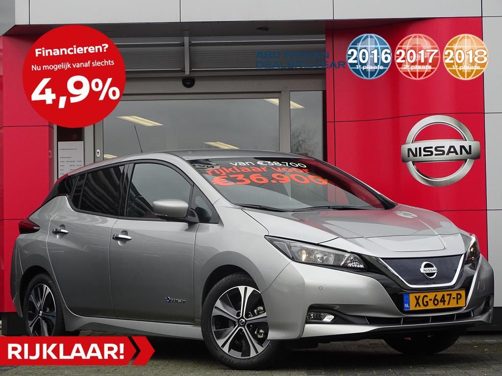 Nissan Leaf N-connecta 40 kwh 5 jaar gegarandeerd 4% bijtelling!