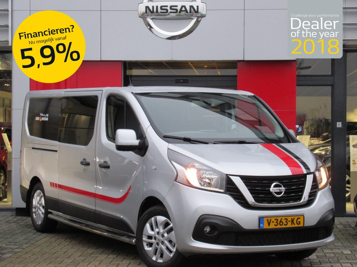 Renault Trafic Dci 120pk l2h1 edition 300 dubbele cabine nu 20.945,- inclusief exclusieve styling!!!