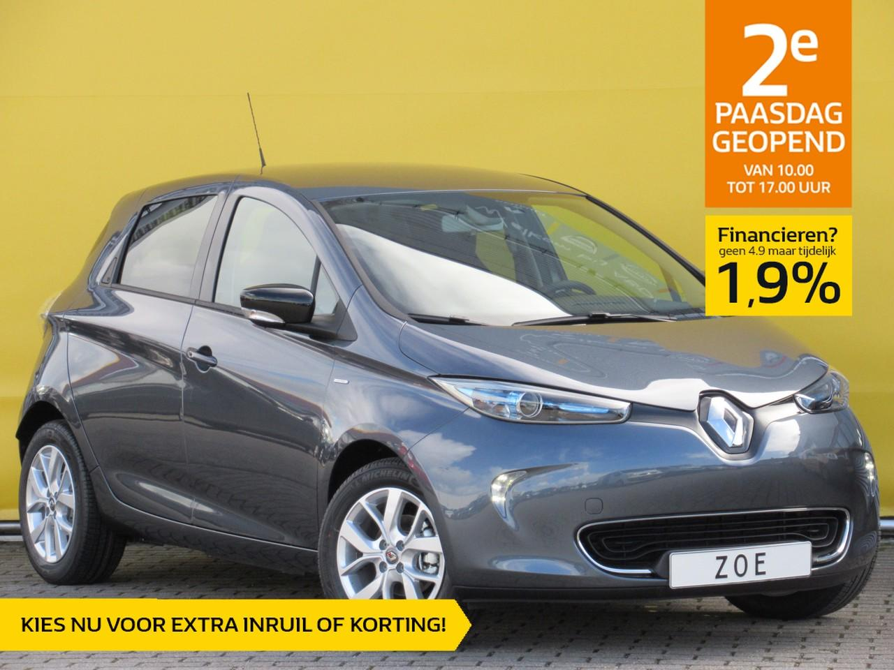 Renault Zoe R110 limited 41 kwh batterijhuur nu rijklaar uit voorraad voor € 28.000,-