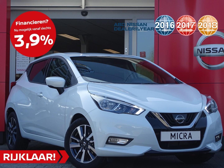 Nissan Micra 0.9 ig-t n-connecta actieprijs! van €21.250,- nu rijklaar voor €18.450,-