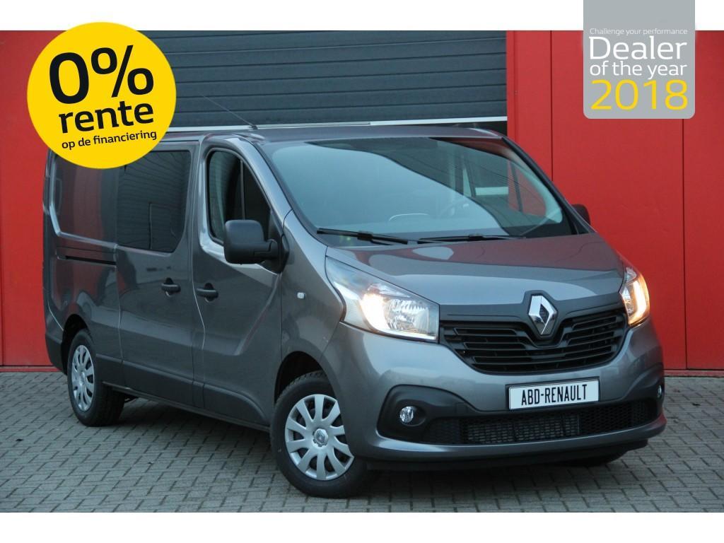 Renault Trafic L2h1 t29 dc dci 125 pk eu6 work edition normaal rijklaar 31.295- , nu 23.900,-