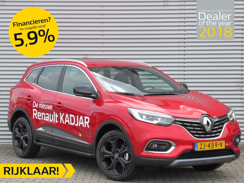 Renault Kadjar Phase 2 tce 160pk black edition normaal rijklaar 37.795,- nu rijklaar 35.195,-