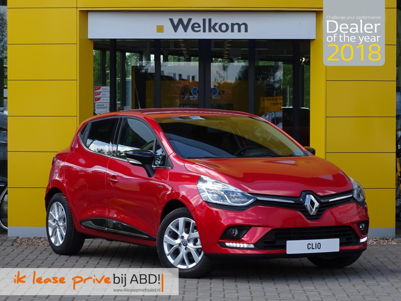 Renault Clio Tce 90pk limited private lease prijs