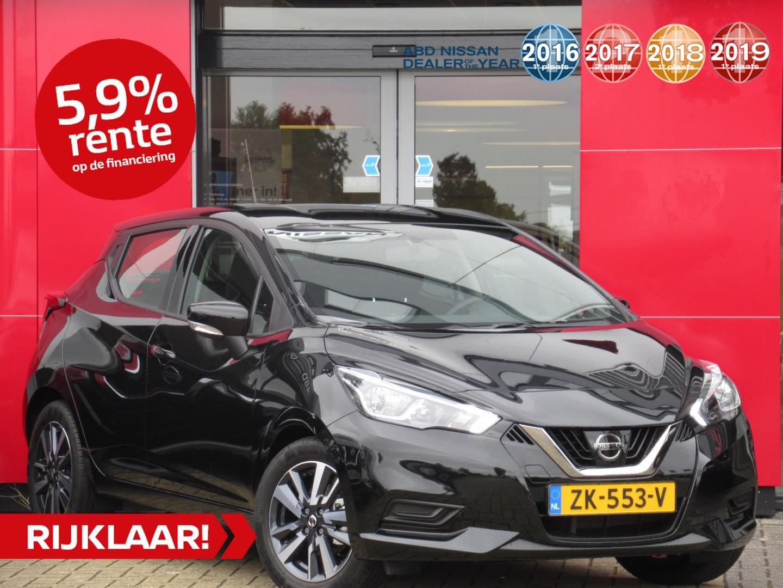 Nissan Micra 0.9 ig-t acenta actieprijs! normaal €20.450,- nu rijklaar €16.900,- // private lease vanaf €311,- per maand!