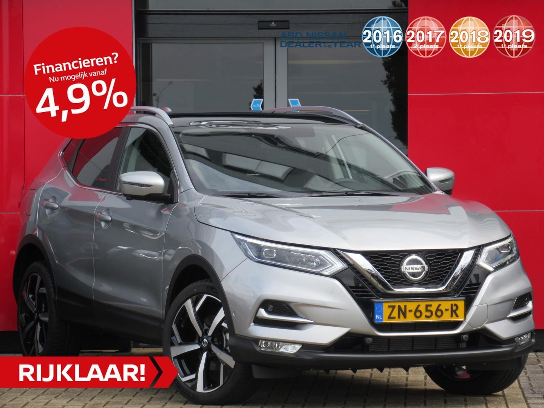 Nissan Qashqai 1.2 tekna actieprijs! normaal €34.950,- nu rijklaar €26995,-
