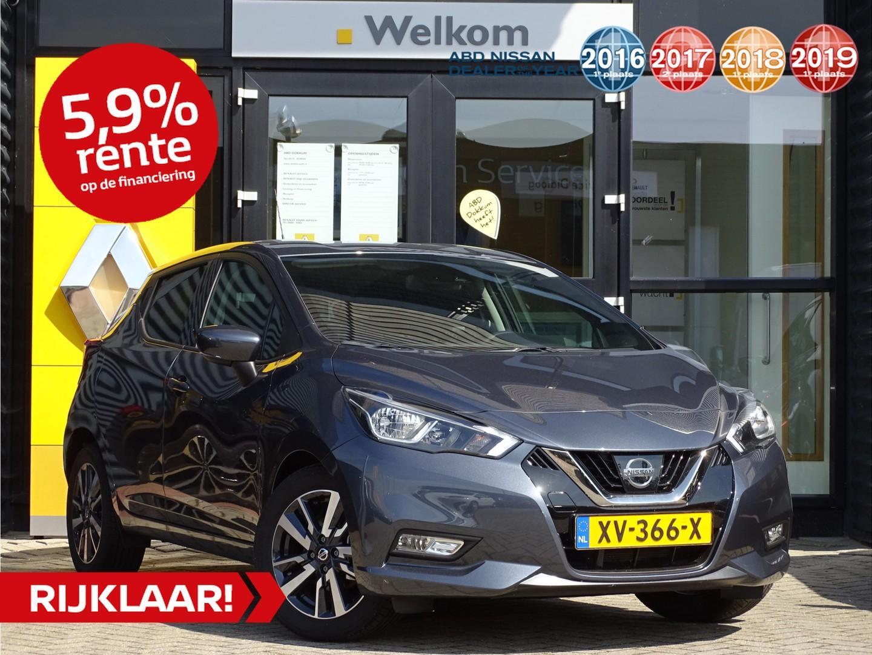 Nissan Micra Ig-t 90pk n-connecta n-way + cold pack private lease vanaf eur. 275,-