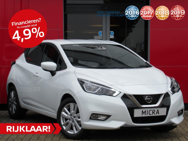 Nissan Micra 1.0 ig-t n-connecta 5 jaar-garantie!