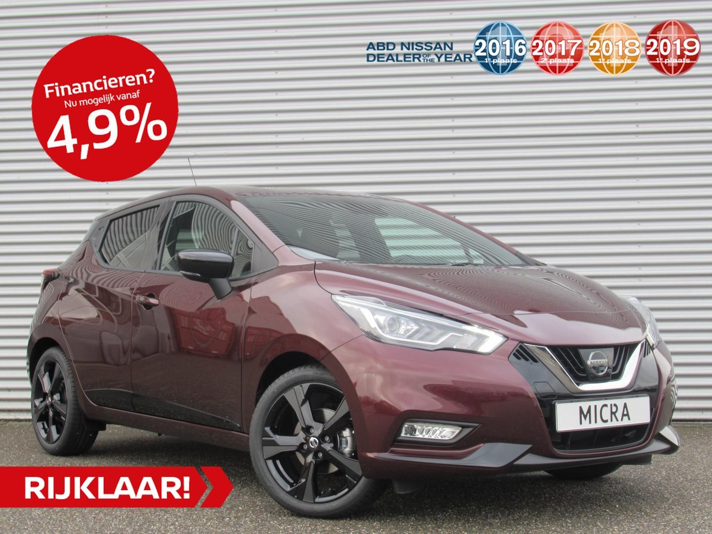 Nissan Micra 1.0 ig-t 100pk n-style