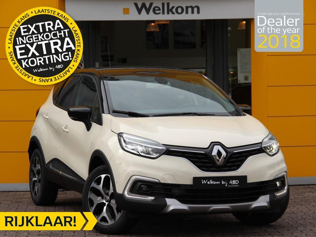 Renault Captur Tce 130pk intens normaal rijklaar 27.595,- nu rijklaar 24.795,-
