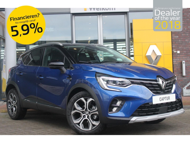 Renault Captur Tce 130pk edc edition one nu op voorraad! demo voordeel