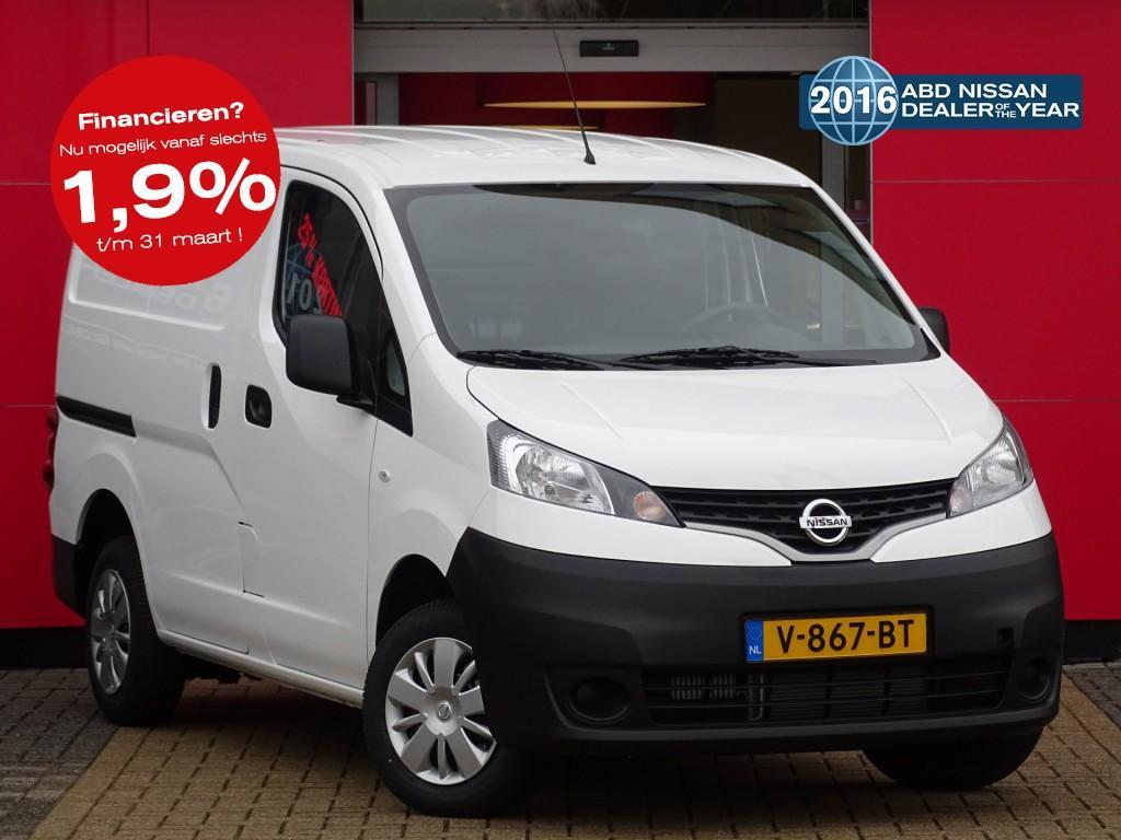 Nissan Nv200 1.5 dci 90pk euro6 optima abd actie 25% korting